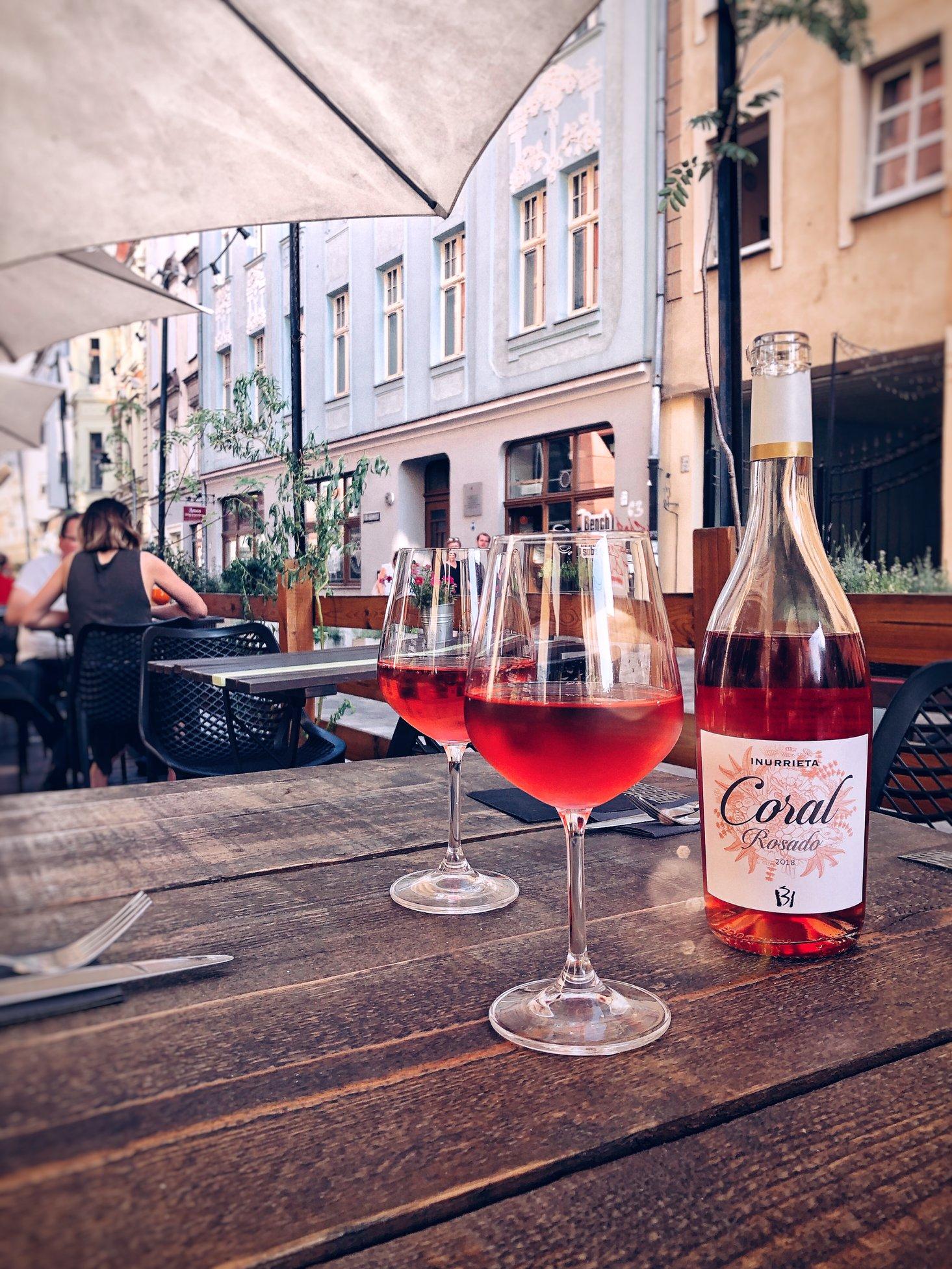 Wina musujące, PET-NATy, różowe